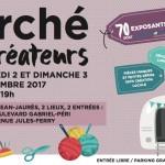 Sahraouia au Marche des Createurs de Malakoff 02-03 decembre 2017