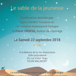 Conference Le Sable de la Jeunesse
