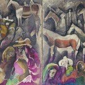 Exposition A la plume, au pinceau, au crayon : dessins du monde arabe